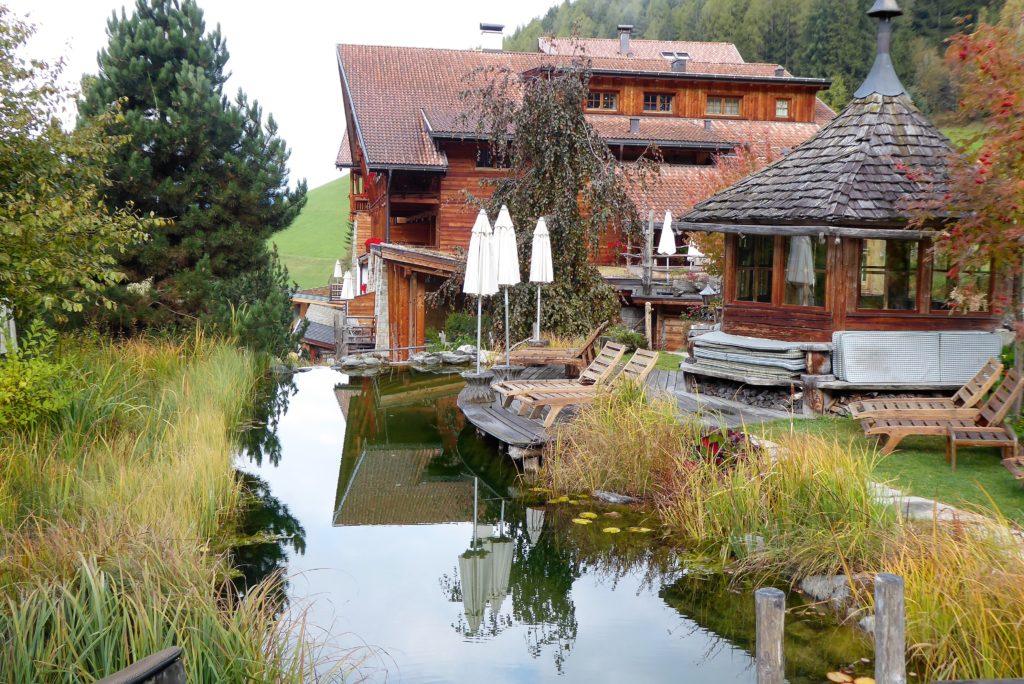 Hotel Lüsnerhof Naturteich