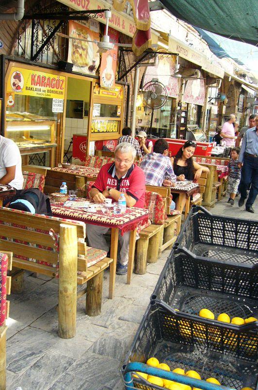 Baklava auf Basar in Izmir