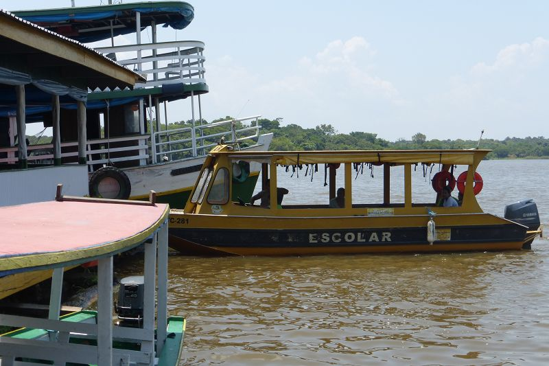 Manaus Schulboot