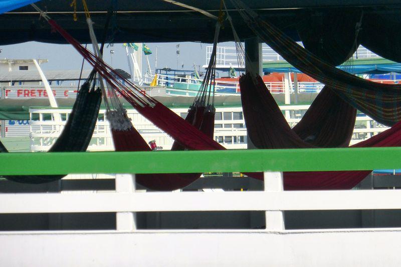 Hängematten an Bord