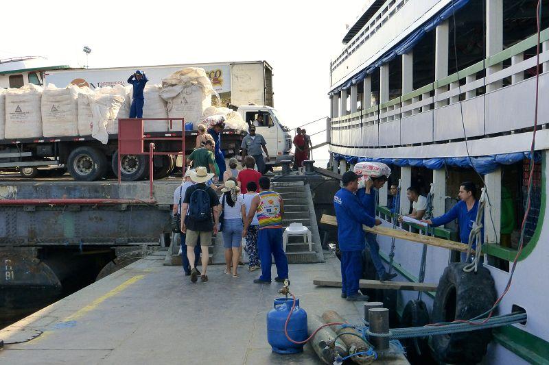 Hafen Manaus