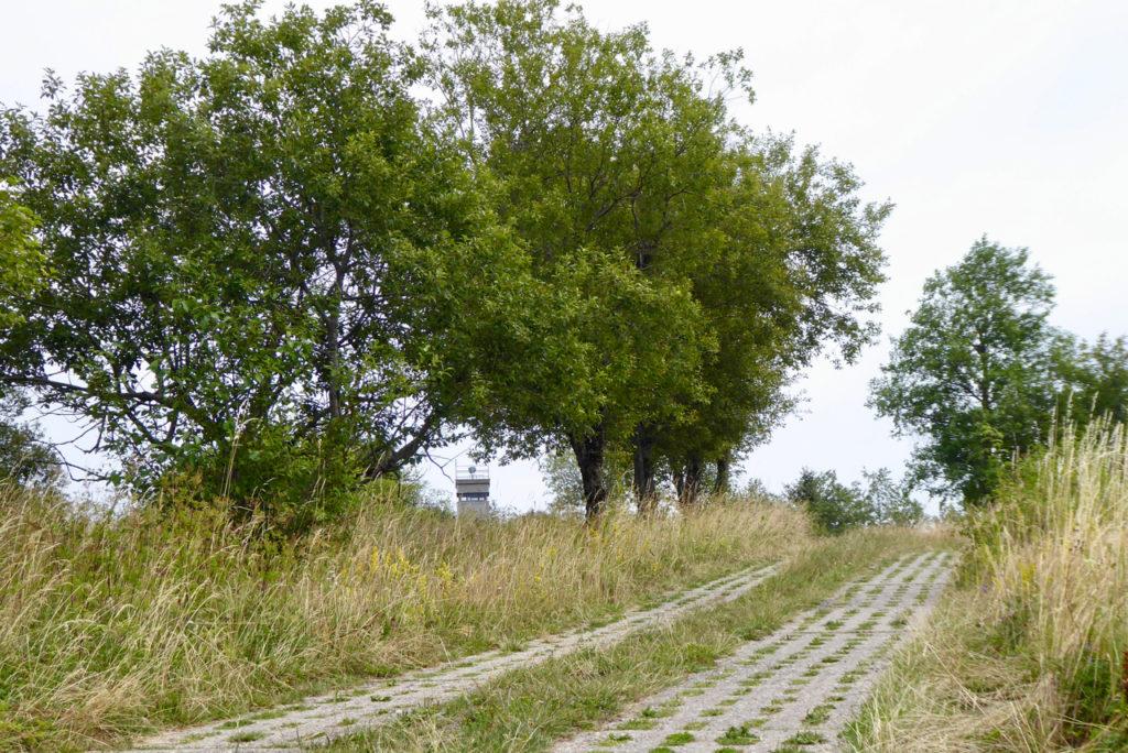 Rhön, Kolonnenweg am Grünen Band