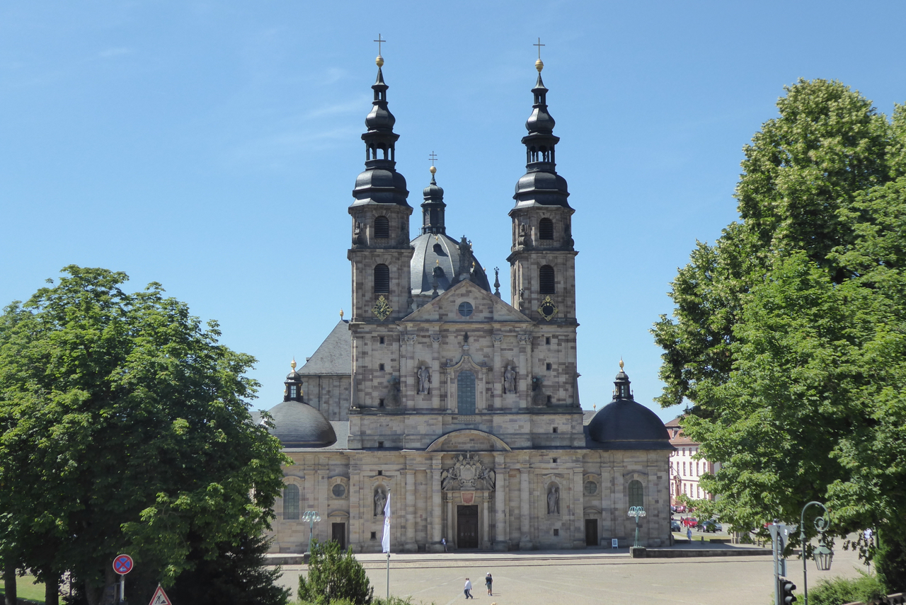 Barockstadt Fulda, Dom mit Domplatz