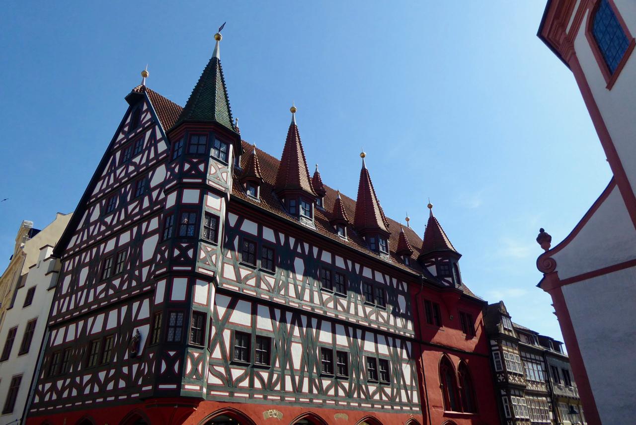 Fulda, altes Rathaus, Rhön