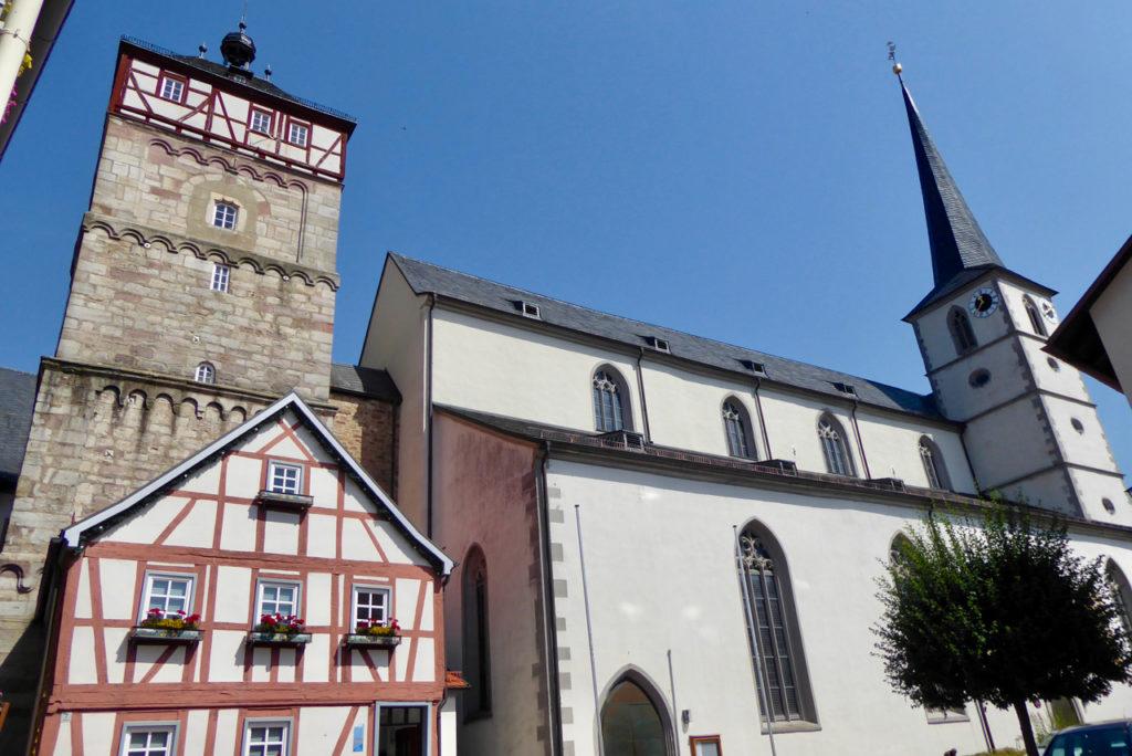 Rhön, Bischofsheim, Kirche St. Georg