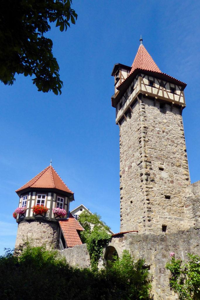 Ostheim, Kirchenburg, Rhön