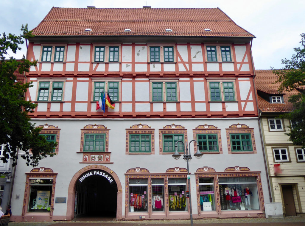 Osterrode, das Rinnesche Haus