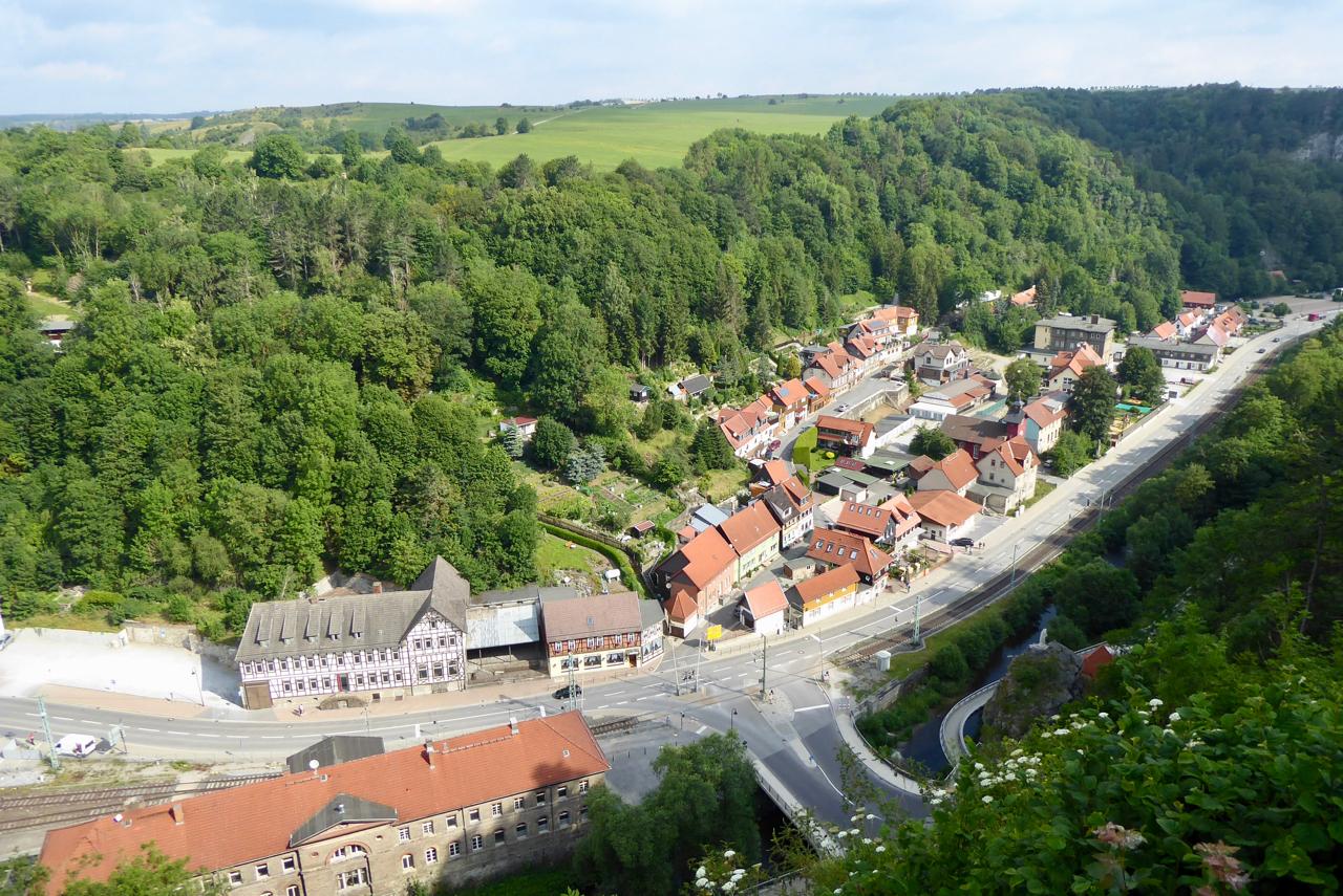 Harzer-Hexen-Stieg, 6. Etappe von Rübeland nach Altenbrak