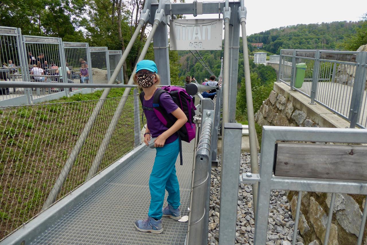 Mutprobe: Wir laufen über Titan RT, die längste Hängebrücke der Welt