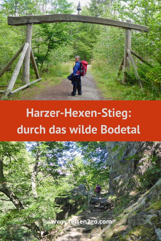 Harzer-Hexen-Stieg: durch das Bodetal
